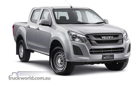 Isuzu UTE D-MAX 4x2 SX Crew Cab Ute Low Ride