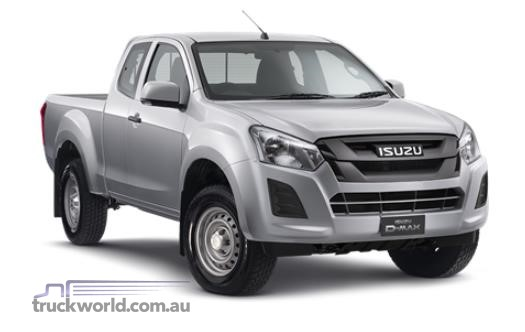 Isuzu UTE D-MAX 4x2 SX Space Cab Ute High Ride