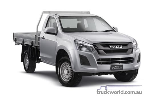 Isuzu UTE D-MAX 4x2 SX Single Cab Chassis High Ride