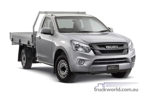 Isuzu UTE D-MAX 4x2 SX Single Cab Chassis Low Ride