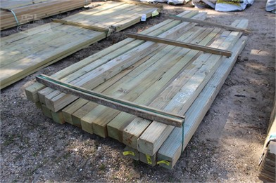 Bundle Of (12) 4X4x8 & (5) 4X4x10 Boards Other Auction
