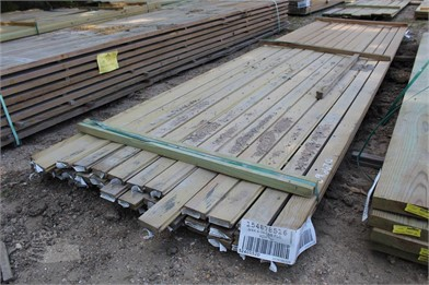 BUNDLE OF (38) 5/4X4X14 C&B T&G BOARDS Other Auction Results - 1