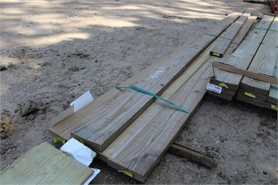 BUNDLE OF (4) 2X8X16 BOARDS   Auction Results - 1 Listings