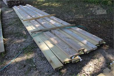 BUNDLE OF (11) 2X6X20 BOARDS Other Auction Results - 1