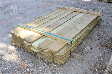 BUNDLE OF (91) 5/8X6X6 FENCE BOARDS Other Auction Results - 1