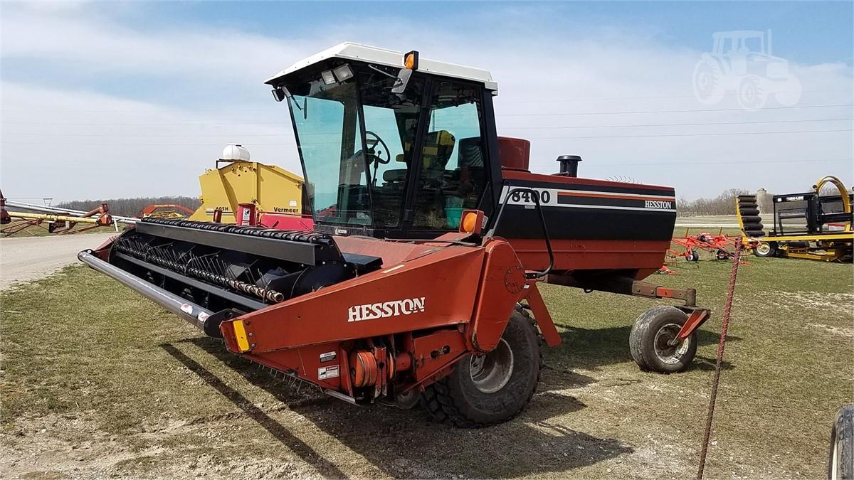 1995 HESSTON 8400 For Sale In Waldo, Wisconsin | www