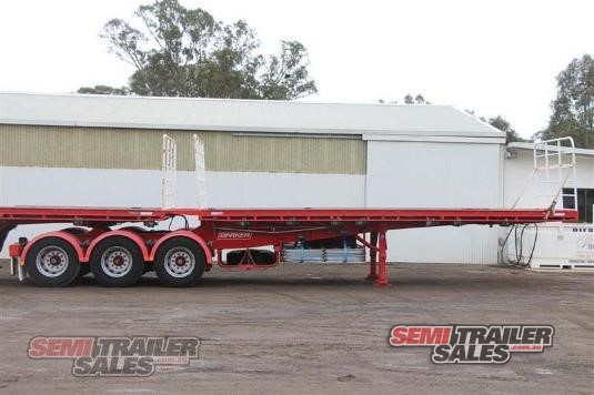 2011 Barker Flat Top Trailer Semi Trailer Sales - Trailers for Sale
