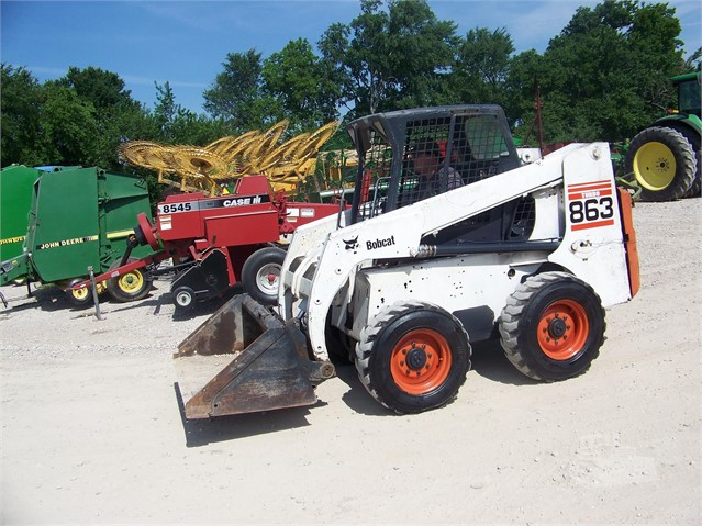 BOBCAT 863 For Sale In Commerce, Texas