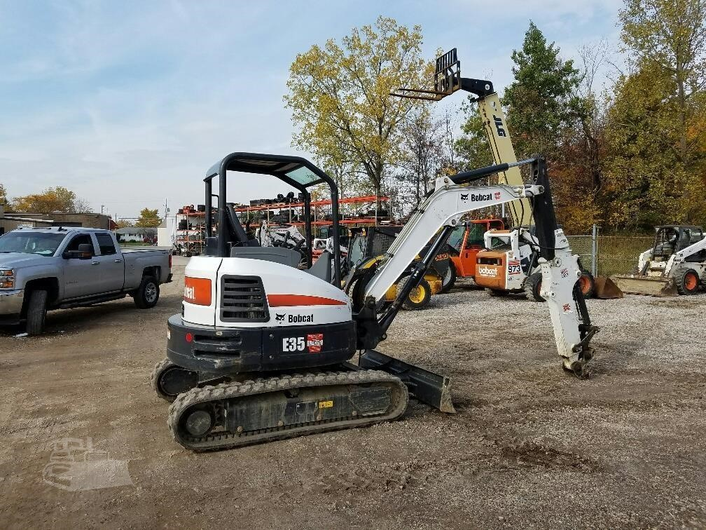 2016 Bobcat E35 For Sale In Wooster Ohio Www Leppos Com