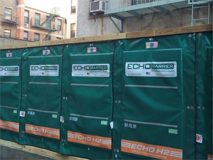 Multiquip & Echo Barrier Quiet Construction Zones