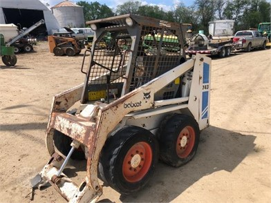 BOBCAT 743 Auction Results In Iowa - 8 Listings