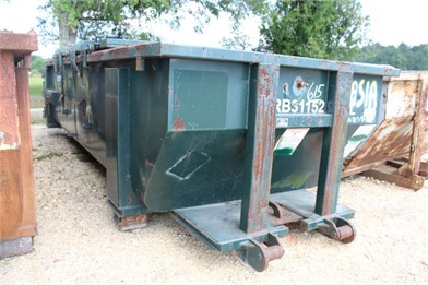 Closed Top Roll Off Container Storage Bins - Liquid/Dry Auction