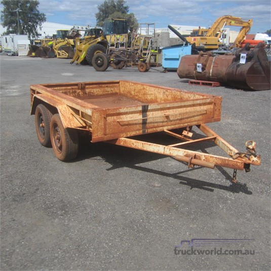 2005 John Papas Trailers Tandem Axle Box Trailer Trailers for Sale