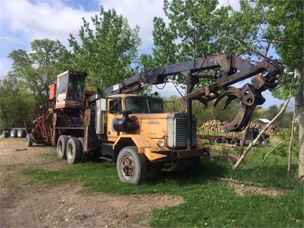 Truck Log Loaders Logging Equipment Auction Results - 33