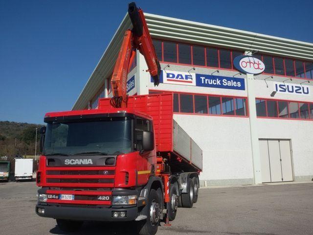 Scania P124G420 Usato