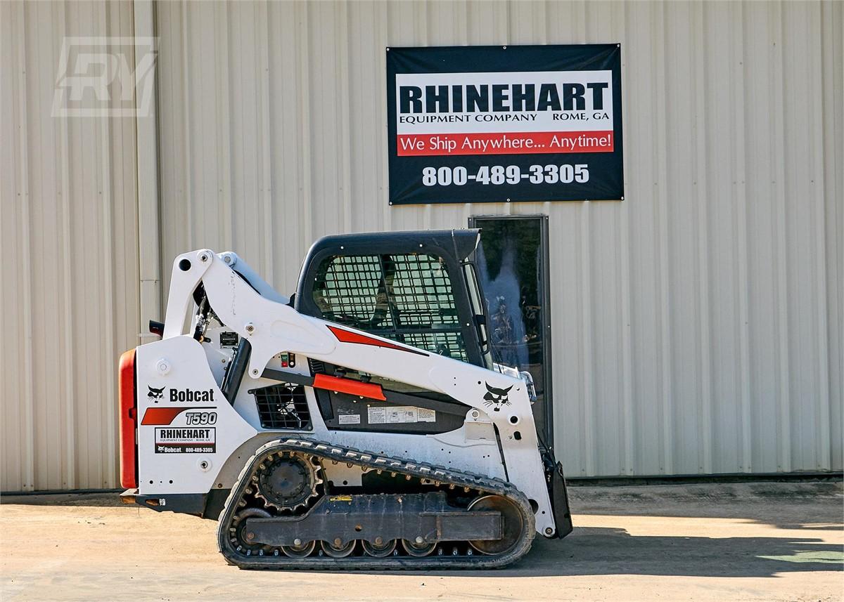 www rhinehartequipment com | 2016 BOBCAT T590 For Rent