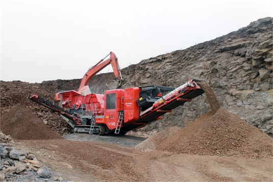 2017 Terex Finlay I140 - Heavy Machinery for Sale