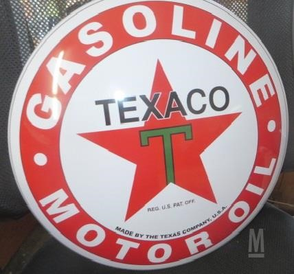 MarketBook co tz | TEXACO METAL BUTTON SIGN Auction Results