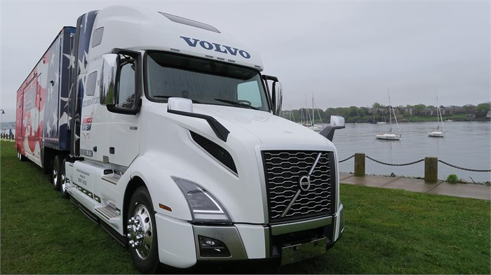 Volvo Presents America's Road Team With A VNL 760 Truck | Truck Paper Blog
