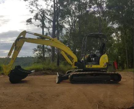 0 Yanmar ViO55-5B - Heavy Machinery for Sale