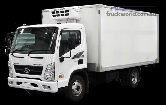 2018 Hyundai Mighty EX6 MWB Factory Chiller - Trucks for Sale