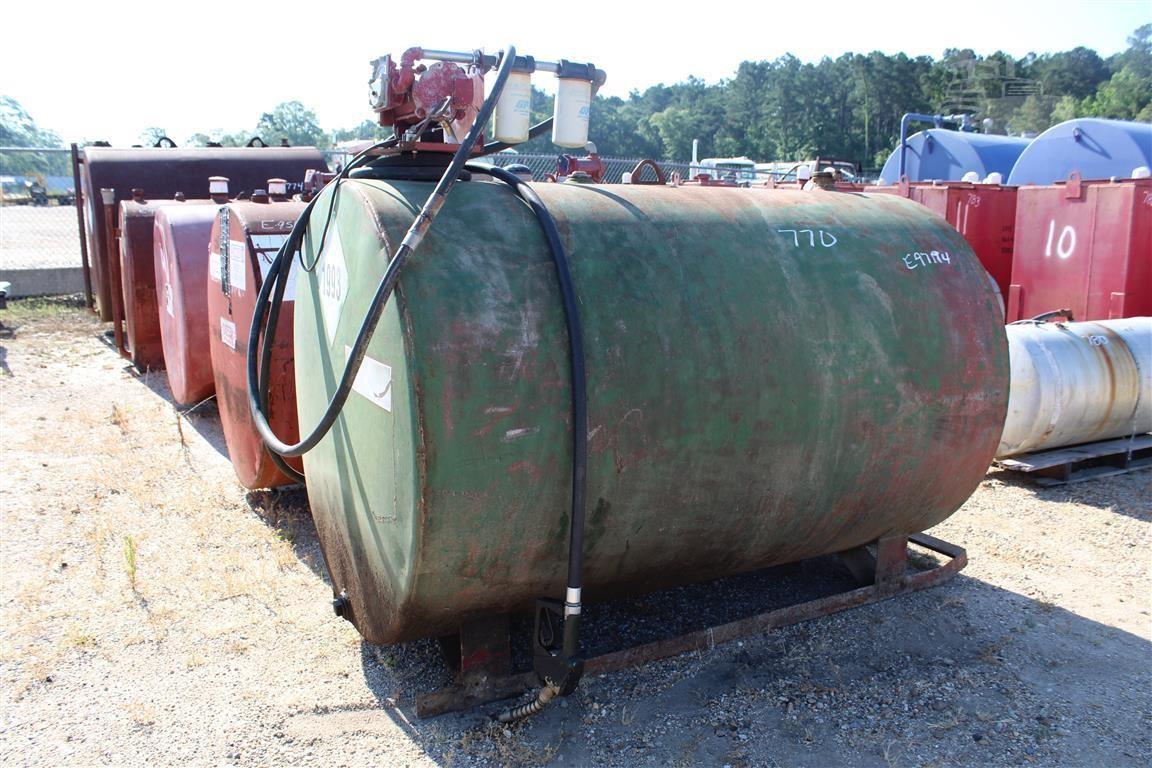 500 Gallon Fuel Tank >> 500 Gallon Fuel Tank W Pump Skid Mtd For Sale In Livingston Louisiana