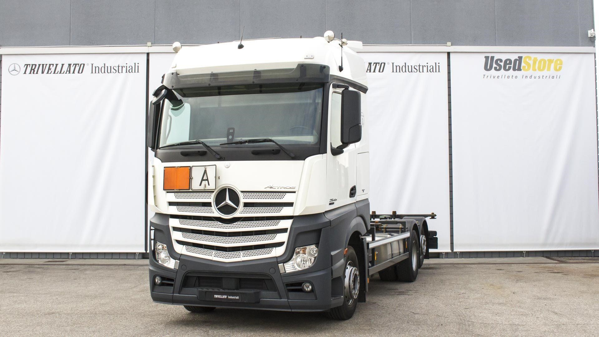 Mercedes-Benz ACTROS 2545 #Used