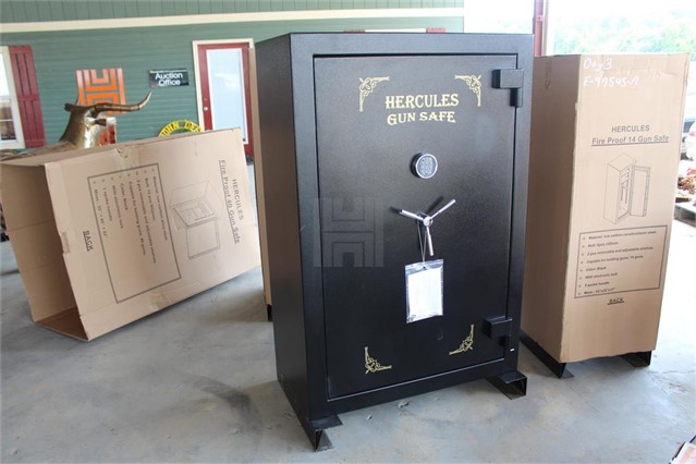 MarketBook gt | UNUSED HERCULES 40 GUN FIRE PROOF SAFE