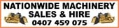 Nationwide Machinery Sales & Hire - Logo