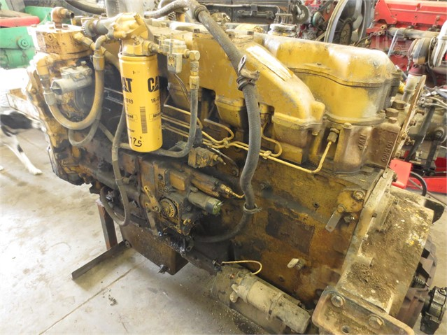 1986 CAT 3406B Engine For Sale In Eau Galle, Wisconsin