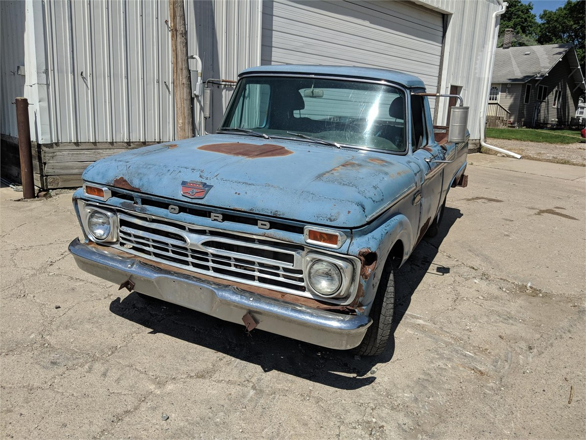 Auctiontime Co Uk 1966 Ford F100 Auction Results