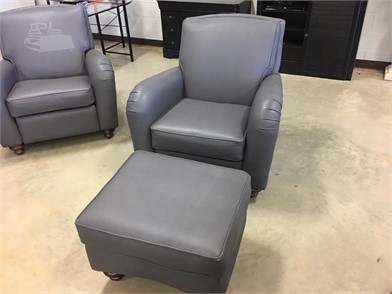 Swell Misc Grey Leather Chair Ottoman And Leather Recliner Pdpeps Interior Chair Design Pdpepsorg