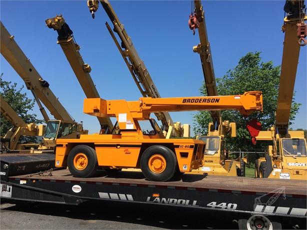 BRODERSON IC80-3G Carry Deck Cranes / Pick and Carry Cranes