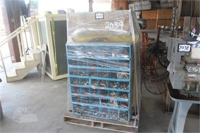 PALLET W/ (2) COUPLING BINS Other Auction Results - 1
