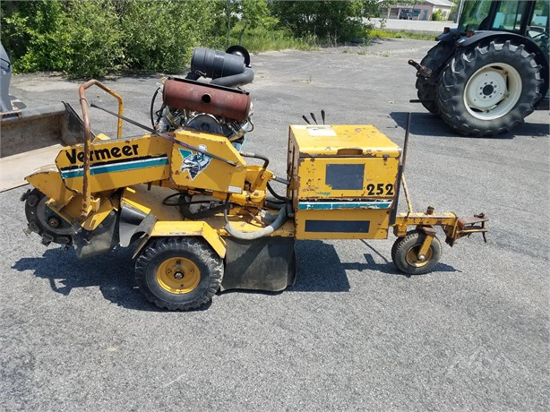 Stump Grinders Logging Equipment Auction Results in New York - 16
