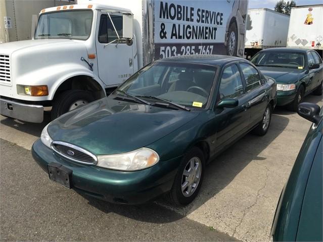 1999 ford contour horsepower