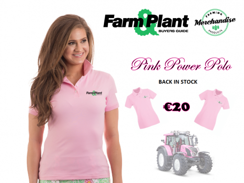 Pink Polo Power In Stock