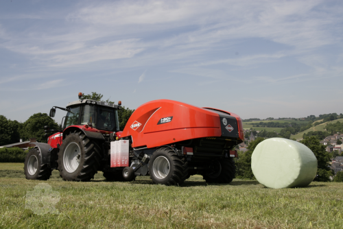 Kuhn Launch New Baler-Wrapper Combo   Farm And Plant Blog