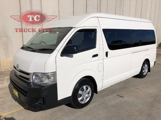 2010 Toyota Hiace TRH223R MY10 Commuter High Roof Super LWB Truck City - Buses for Sale