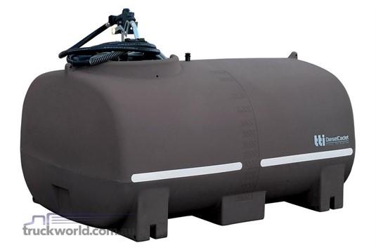 2018 Transtank DIESELCADET 2400L WITH 60L/MIN PUMP - Heavy Machinery for Sale