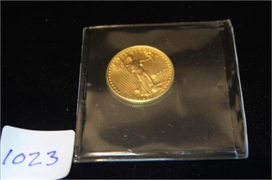 857345e43 1986  10 Gold American Eagle (1 4 Oz .999 Gold) Other Auction ...