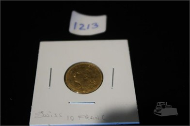 1913 10 Fr Helvetia Swiss Gold Coin Other Auction Results