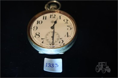 Cross Pocket Watch Other Items Auction