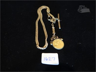 69d38c3b7771 Watch Fob W/1914 $2 1/2 Gold Indian Head Other Items Auction Results ...