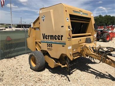 VERMEER 505L Online Auction Results - 4 Listings