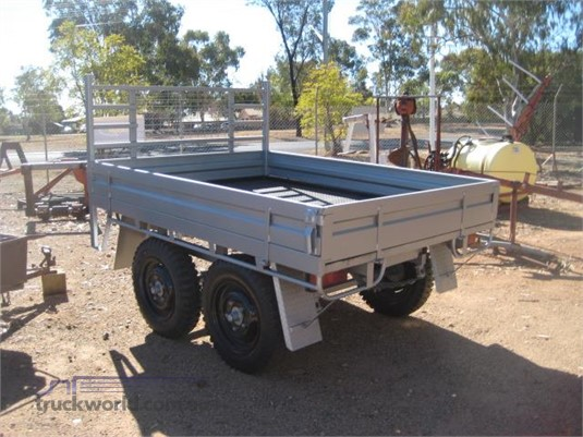 2010 Homemade Flat Top Trailer - Trailers for Sale
