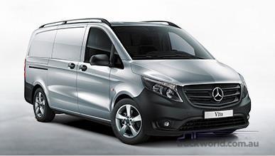 Mercedes Benz Vito 114 BlueTEC Van Lwb