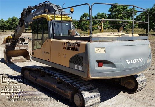 2008 Volvo EC240CL - Heavy Machinery for Sale