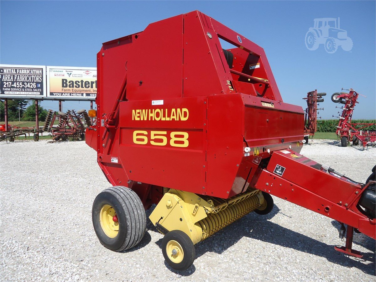 2000 NEW HOLLAND 658 For Sale In Camp Point, Illinois |  www.bastertequipment.com