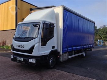 Used IVECO EUROCARGO 75E16 Curtain Side Trucks for sale in